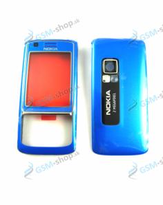 Kryt Nokia 6288 predný a zadný modrý Originál