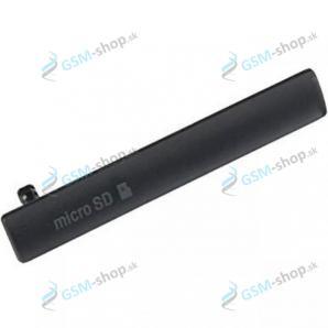 Krytka USB Sony Xperia Z3 Compact D5803 čierna Originál