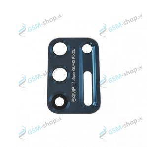 Sklíčko kamery Motorola Moto G9 Plus (XT2087) modré Originál