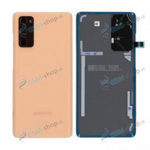 Kryt Samsung Galaxy S20 FE (G780) batérie oranžový Originál