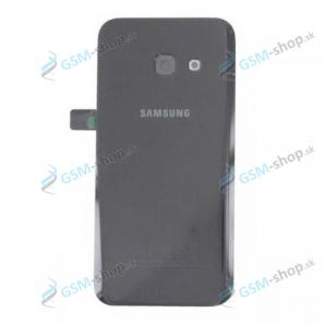 Kryt Samsung Galaxy A3 2017 (A320) batérie čierny Originál