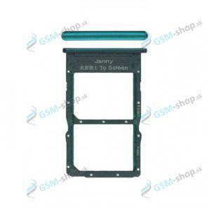 Sim a Micro SD držiak Huawei P40 Lite zelený Originál