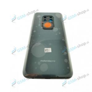 Kryt Motorola One Zoom (XT2010) zadný šedý a stred Originál