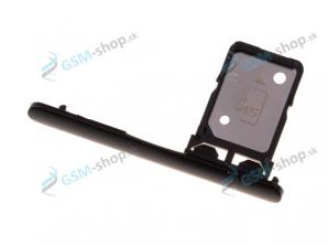 SIM držiak Sony Xperia 10 čierny Originál