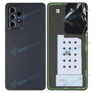Kryt Samsung Galaxy A52, A52 5G batérie čierny Originál