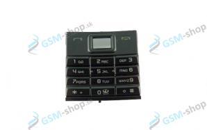 Klávesnica Nokia 8800 Sirocco čierna Originál