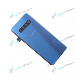 Kryt Samsung Galaxy S10 (G973) batérie modrý Originál