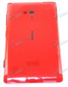 Kryt Nokia Lumia 720 batérie červený Originál