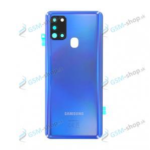 Kryt Samsung Galaxy A21s (A217) batérie modrý Originál