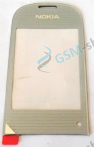 Sklíčko Nokia 3710 Fold vnútorné biele Originál