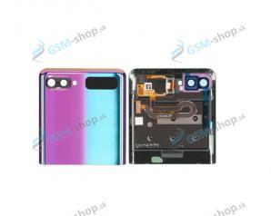 Kryt Samsung Galaxy Z Flip (F700) zadný vrchný fialový Originál
