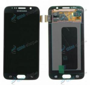 LCD Samsung Galaxy S6 G920F a dotyk čierny Originál
