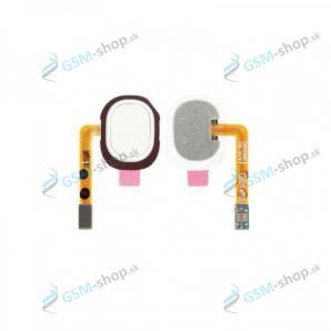 Flex Samsung Galaxy A20e (A202) a snímač odtlačku prsta biely Originál