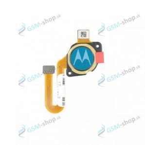 Flex Motorola Moto G50 (XT2137) a snímač odtlačku modrý Originál