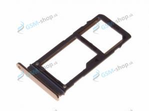 Sim a SD držiak Samsung A530F, A730F zlatý Originál
