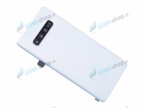 Kryt Samsung Galaxy S10 Plus (G975) batérie biely Originál