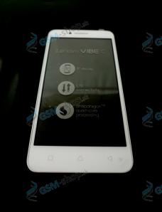 LCD Lenovo Vibe C (A2020a40) a dotyk biely s krytom Originál