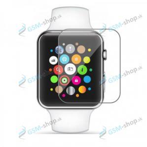 Tvrdené sklo Apple Watch 1, 2, 3 (38 mm) priesvitné rovné