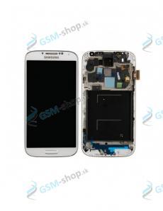 LCD displej Samsung Galaxy S4 (i9505) a dotyk biely s krytom Originál