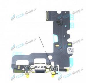 Flex iPhone 7 pre nabíjanie čierny Originál