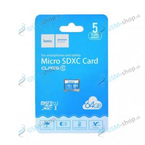 Pamäťová karta HOCO MicroSDXC 64 GB trieda 10
