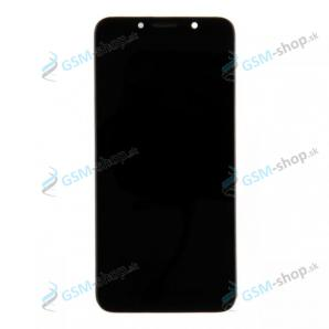 LCD displej Motorola Moto E6 Play (XT2029) a dotyk čierny s krytom Originál