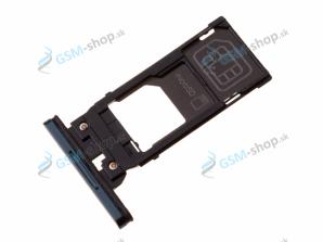 Sim a Micro SD držiak Sony Xperia XZ3 biely Originál