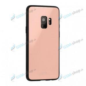 Ochranný kryt GLASS Samsung Galaxy A8 2018 A530 ružový