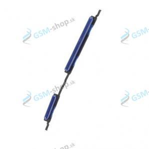 Tlačidlá hlasitosti a zapínania Samsung Galaxy A10 (A105) modré Originál