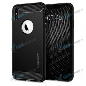 Púzdro SPIGEN Rugged Armor iPhone 12 Mini (ACS01743) čierne