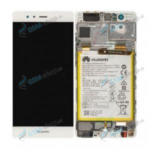 LCD Huawei P9 a dotyk biely s krytom Originál