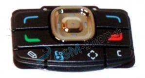 Klávesnica Nokia N80 malá čierna Originál