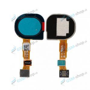 Flex Samsung Galaxy M11 (M115) a snímač odtlačku prsta modrý Originál