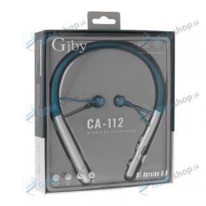 Bluetooth slúchadlá GJBY CA-112 modré