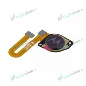 Flex Motorola Moto G10 (XT2127) a snímač odtlačku šedý Originál