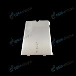 Krytka batérie Sony Ericsson Xperia X1 strieborná Originál