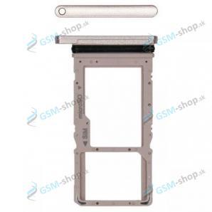 SIM a MicroSD držiak Samsung Galaxy Tab A7 10.4 LTE (T505) zlatý Originál