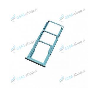 SIM a SD držiak Samsung Galaxy A12 (A125) modrý Originál