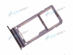 Sim a microSD držiak Samsung N950F Galaxy Note 8 Duos čierny Originál