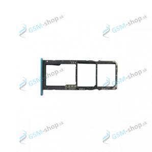Sim a Micro SD držiak Huawei Y6p, Honor 9A modrý Originál