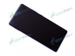 LCD Samsung Galaxy S10 Lite (G770) a dotyk s krytom modrým Originál
