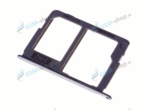 Sim a microSD držiak Samsung J330F Galaxy J3 2017 Dual strieborný Originál