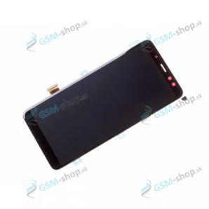 LCD Samsung Galaxy A8 2018 (A530) a dotyk čierny Originál