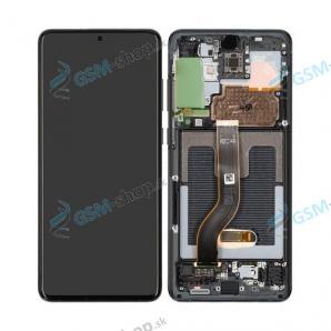 LCD Samsung Galaxy S20 Plus (G985, G986) a dotyk s krytom čiernym Originál