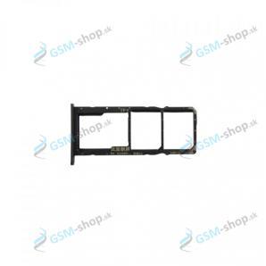 Sim a Micro SD držiak Huawei Y6p čierny Originál
