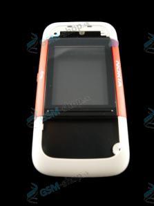 Kryt Nokia 5200 predný červený Originál