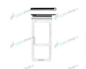 SIM a SD držiak Samsung Galaxy A90 5G (A908) čierny Originál