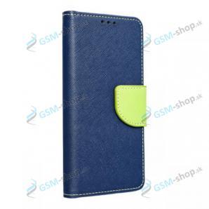 Púzdro Samsung Galaxy A12 (A125), M12 (M127) knižka modrá s prackou