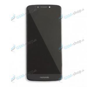 LCD displej Motorola Moto E5 Plus (XT1924) a dotyk čierny s krytom Originál