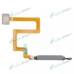 Flex Samsung Galaxy A22 5G (A226) a snímač odtlačku šedý Originál
